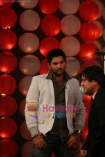 Yuvraj Singh at a promotional event for sony_s new comedy circus _Chinchpokali to China_ in Mohan Studios on 28th December 2008 (23).JPG