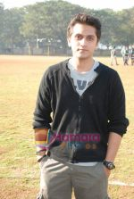 Mohit Suri at the event to promote football training at Jamnabhai  grounds in juhu on 29th December 2008 (10).JPG