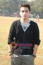 Mohit Suri at the event to promote football training at Jamnabhai  grounds in juhu on 29th December 2008 (11).JPG