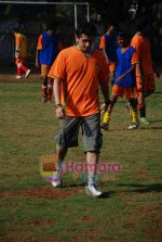 Mohit Suri at the event to promote football training at Jamnabhai  grounds in juhu on 29th December 2008 (14).JPG