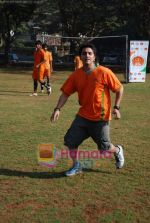 Mohit Suri at the event to promote football training at Jamnabhai  grounds in juhu on 29th December 2008 (15).JPG