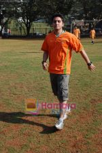 Mohit Suri at the event to promote football training at Jamnabhai  grounds in juhu on 29th December 2008 (16).JPG