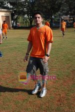 Mohit Suri at the event to promote football training at Jamnabhai  grounds in juhu on 29th December 2008 (17).JPG