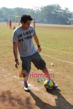 Mohit Suri at the event to promote football training at Jamnabhai  grounds in juhu on 29th December 2008 (4).JPG