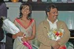Ritu Singh, Atul Gangwar at the launch of film Jalebi Culture on 28th Dec 2008.jpg