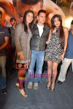 Asin Thottumkal, Aamir Khan, Jiah Khan at Ghajini success bash in Taj land_s End on 30th December 2008 (2).JPG