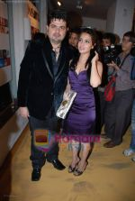 Daboo Ratnani with Riya Sen at Daboo Ratnani_s star studded calendar launch on 5th Jan 2009 (13).JPG