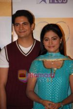 Hina Khan, Karan Mehra at the Launch of  Serial Yeh Rishta Kya Kehlata Hai on Star Plus in Film City on 7th Jan 2009 (3).JPG