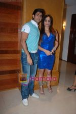 Hussain Kuwajerwala, Tina at ITA success bash in Sun N Sand on 7th Jan 2009 (2).JPG