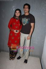 Kapil Nirmal and Anjali Abrol at Nach Baliye 4 album launch in D Ultimate Club on 8th Jan 2009 (67).JPG