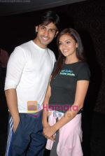 Naman Shaw and Megha Gupta at Nach Baliye 4 album launch in D Ultimate Club on 8th Jan 2009 (2).JPG