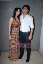 Sudeep Sahir and Anantika Sahir at Nach Baliye 4 album launch in D Ultimate Club on 8th Jan 2009 (2).JPG