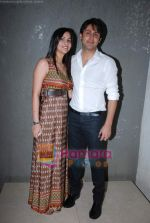 Sudeep Sahir and Anantika Sahir at Nach Baliye 4 album launch in D Ultimate Club on 8th Jan 2009 (68).JPG