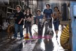 Kyla Pratt, Emma Roberts, Jake T. Austin, Troy Gentile, Johnny Simmons in a still from movie Hotel for Dogs (1).jpg