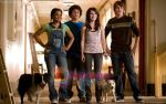 Kyla Pratt, Emma Roberts, Troy Gentile, Johnny Simmons in a still from movie Hotel for Dogs.jpg