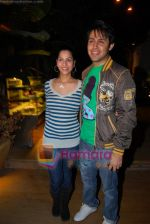 Sudeep Sahir n wife Anantika at Mohit Mallik bday bash on 12th Jan 2009.jpg