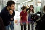 Thor Freudenthal, Emma Roberts, Jake T. Austin in a still from movie Hotel for Dogs.jpg