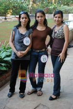 at Miss India Worldwide audition round in Raheja College on 11th Jan 2009.JPG