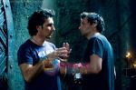 Patrick Tatopoulos, Len Wiseman in still from the movie Underworld - Rise of the Lycans.jpg