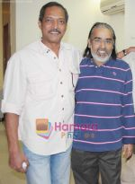 Nana Patekar  & director Sangeeth Sivan at the special screening of movie EK- The Power of One on 16th Jan 2009 (3).jpg