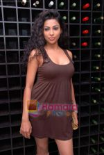 Shefanjali at Kamia Malhotra_s Silver Spoon restaurant launch in Andheri on 18th Jan 2009.JPG