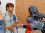 Rajpal Yadav On Location of Chaloo Movie on 19th Jan 2009 (2).JPG