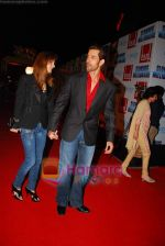 Hrithik Roshan, Suzanne Khan at Slumdog Millionaire premiere on 22nd Jan 2009 (3).JPG