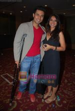Randeep Hooda, Madhureeta Anand at the discussion of the film Mere Khwabon Mein Jo Aaye in BJN banquets, Andheri, Mumbai on 30th Jan 2009 (2).JPG