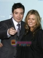 Jimmy Fallon, Nancy Juvonen arrives at the Los Angeles Premiere of the movie He_s Just Not That Into You at Grauman_s Chinese Theatre on February 2, 2009 in Los Angeles, California.jpg