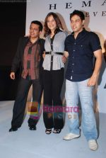 Rakshanda Khan, Sachin Sharma, Hemant Trivedi at the launch of Hemant Trivedi_s Menswear Collection in Oberoi Mall on 4th Feb 2009 (3).JPG