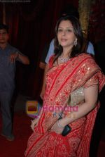 Nagma at Bharat Shah_s son wedding in Turf Club on 5th Feb 2009 (10).JPG