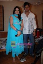 Shaleen Bhanot, Aarti Singh at Starplus Valentine day_s shoot in Filmistan on 6th Feb 2009 (3).JPG