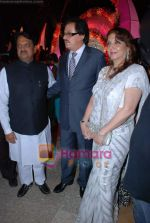 Sanjay Khan, Vilasrao Deshmukh at Yusuf Lakdawala Son Muinuddin And Sanaa Wedding Reception Party on 7th Feb 2009 (13).JPG