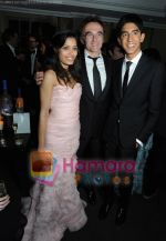 Danny Boyle, Dev Patel, Freida Pinto at BAFTA After party in Soho House and Grey Goose on 9th Feb 2009 (29).jpg