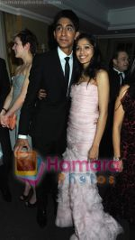 Dev Patel, Freida Pinto at BAFTA After party in Soho House and Grey Goose on 9th Feb 2009 (2).JPG