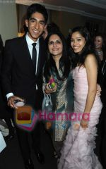 Dev Patel, Loveleen Tandan, Freida Pinto at BAFTA After party in Soho House and Grey Goose on 9th Feb 2009 (16).JPG