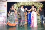 Govinda with daughter Namrata at Bharat Dorris Hair and Makeup Fashion week 2009 on 12th Feb 2009 (5).JPG