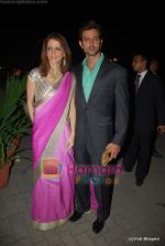 Hrithik Roshan, Suzanne Khan at Raman and Ambika Hinduja wedding on 12th Feb 2009 (5).JPG