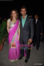 Hrithik Roshan, Suzanne Khan at Raman and Ambika Hinduja wedding on 12th Feb 2009 (6).JPG