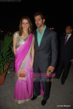 Hrithik Roshan, Suzanne Khan at Raman and Ambika Hinduja wedding on 12th Feb 2009 (8).JPG