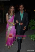 Suzanne Roshan, Hrithik Roshan at Raman and Ambika Hinduja wedding on 12th Feb 2009 (89).JPG