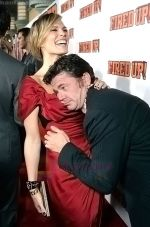 Molly Sims and John Michael Higgins at the premiere of movie FIRED UP on February 19, 2009 in Culver City, California.jpg