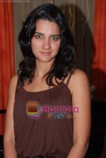 Shruthi Seth at Jhalak Dikhhla Jaa 3 premier party in Khyber restaurant, Khar on 27th Feb 2009 (69).JPG