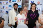 Rasool Pookutty, Anjali Tendulkar at Slumdog special screening in PVR on 28th Feb 2009 (5).JPG