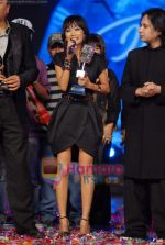 Sourabhee Debbarma at the Grand finale of Indian Idol Season 4 in Mumbai on 2nd March 2009 (2).JPG