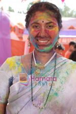 Bharti Patil at Holi celebrations by NDTV Imagine on 3rd March 2009 (3).JPG