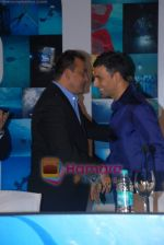 Sanjay Dutt, Akshay Kumar at the Press Conference of the film Blue in Rennaissance Hotel, Powai on 6th March 2009 (2).JPG