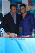 Sanjay Dutt, Akshay Kumar at the Press Conference of the film Blue in Rennaissance Hotel, Powai on 6th March 2009 (4).JPG