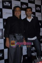 Karan Johar, Ronnie Screwvala ties up with UTV for distribution in J W Marriott on 9th March 2009 (16).JPG
