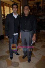 Karan Johar, Ronnie Screwvala ties up with UTV for distribution in J W Marriott on 9th March 2009 (2).JPG